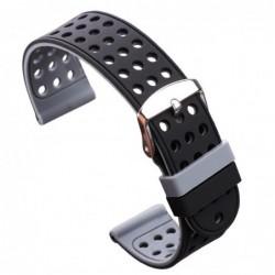 Curea silicon cu doua fete compatibila LG G Watch W110,...
