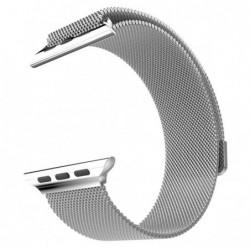 Curea metalica compatibila Apple Watch, Milanese Loop,...