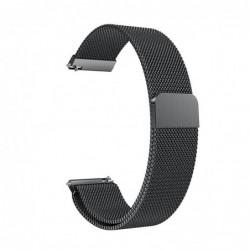 Curea metalica compatibila Smartwatch 20mm, Milanese Loop...