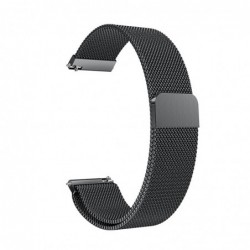 Curea metalica compatibila Smartwatch 22mm, Milanese...