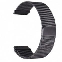 Curea metalica de tip Milanese Loop compatibila cu Garmin...