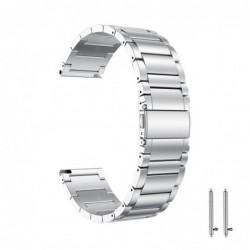 Curea din metal compatibila cu  Huawei Watch Generatia 1,...