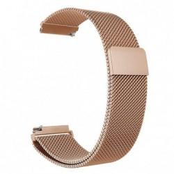 Curea tip Milanese Loop, compatibila Smatwatch, 18mm,...