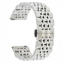 Curea metalica Smartwatch 20mm telescoape QR, 18.5cm,...