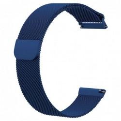 Curea tip milanese loop pentru Smartwatch 20mm telescoape...