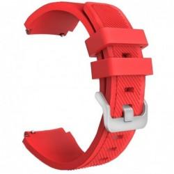 Curea silicon, compatibila Smartwatch 22mm, telescoape...