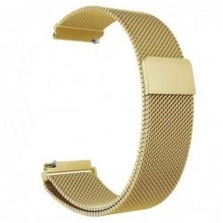 Curea tip Milanese Loop, compatibila Smartwatch 24mm,...