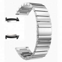 Curea metalica, adaptoare compatibile Samsung Gear Fit 2,...