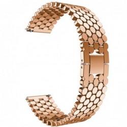 Curea din metal compatibila cu Huawei Watch GT 2 46mm,...