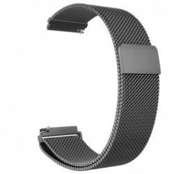 Curea tip Milanese Loop compatibila cu Fitbit Versa,...