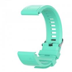Curea silicon compatibila Garmin Fenix 6X, 26mm, Verde