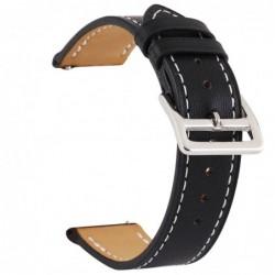 Curea piele, compatibila cu Huawei Watch GT 2 46mm,...