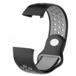 Curea din silicon compatibila cu Fitbit Charge 3,...