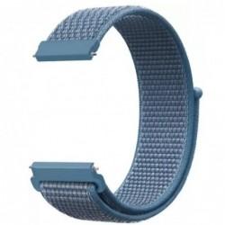 Curea material textil,,  Telescoape QR, 22mm, Powder Blue