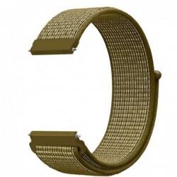 Curea material textil,,  Telescoape QR, 22mm, Tan Brown