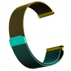 Curea otel, Milanese Loop Slim, compatibila cu Fossil Q...