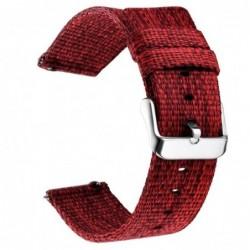 Curea material textil, compatibila cu AmazFit Stratos,...